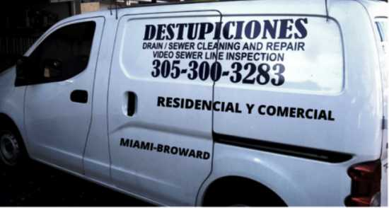 CORAL TERRACE DESTUPICIONES, DRAIN AND SEWER CLEANING